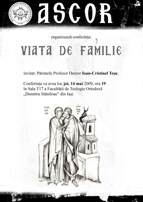 14 mai 2009 - Viata de familie