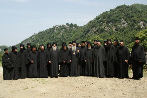 Patimile calugărilor români de pe Muntele Athos